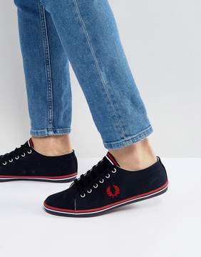 Fred Perry Kingston Twill Sneakers Navy