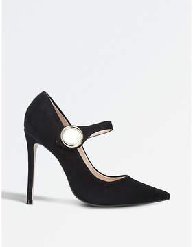 Carvela Argon suede court shoes