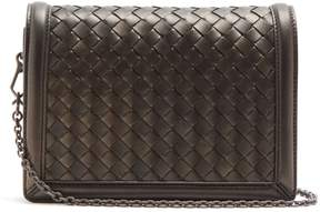 Bottega Veneta Montebello mini intrecciato leather cross-body bag