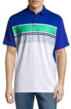 Callaway Opti-Dri Roadmap Striped Short Sleeve Polo Golf Shirt