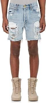 Fear Of God Men's Distressed Denim Cutoff Shorts