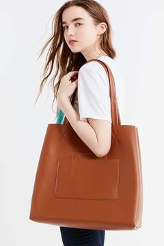 Urban Outfitters Double Pocket Tote Bag