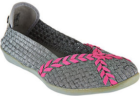 Bernie Mev. Woven Slip-on Braided Catwalk Flats