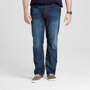 Mossimo Men's Big & Tall Straight Fit Jeans Dark Wash