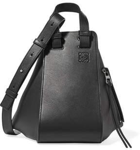 Loewe Hammock Small Leather Tote - Black