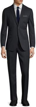 English Laundry Men's Tartan Plaid Notch Lapel Suit