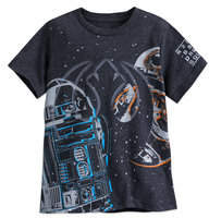 Disney R2-D2 and BB-8 T-shirt for Boys - Star Wars: The Last Jedi