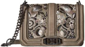 Rebecca Minkoff Small Love Crossbody Cross Body Handbags - MUSHROOM - STYLE