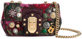 Dolce & Gabbana Lucia embellished shoulder bag