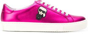Karl Lagerfeld contrast sneakers