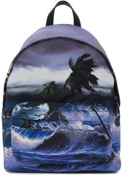 Givenchy Multicolor Urban Blue Hawaii Backpack