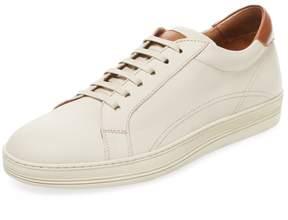 Antonio Maurizi Men's Leather Low Top Sneaker