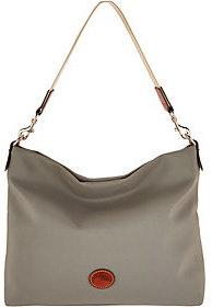 Dooney & Bourke As Is Nylon Extra Large Hobo Handbag -Courtney - ONE COLOR - STYLE