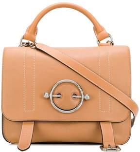 J.W.Anderson caramel Disc satchel