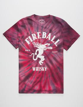 Bioworld FIREBALL Whisky Mens T-Shirt