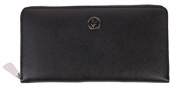 Armani Jeans Women's Black Polyester Wallet.