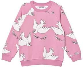 Mini Rodini Pink Peace Sweatshirt