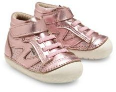 Old Soles Baby's Pave Metallic High Top Leather Sneakers