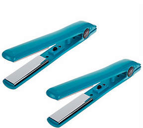CHI Smart GEMZ Set of 2 Travel Irons w/Plates