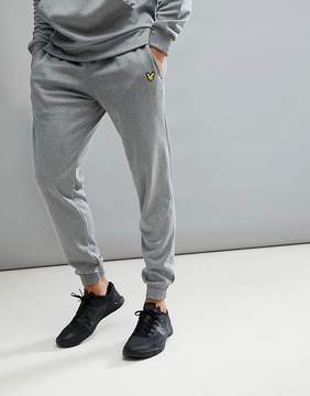 Lyle & Scott Fitness Hislop Jogger In Gray Marl