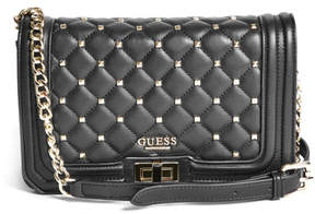 GUESS Talia Stud Quilted Crossbody