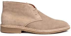 H&M Suede Desert Boots