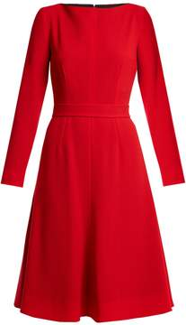 Emilia Wickstead Kate A-line wool-crepe dress
