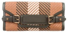 Belstaff Belstaff Croscombe Woven Leather Clutch