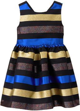 Gymboree Blue & Yellow Stripe Sleeveless Dress - Infant, Toddler & Girls