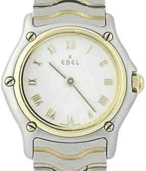 Ebel Sport Classic 1157111 Stainless Steel & 18K Yellow Gold Quartz 23mm Womens Watch