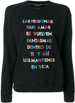 Each X Other embroidered sweatshirt