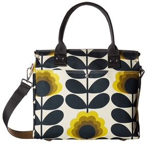 Orla Kiely Summer Flower Stem Zip Messenger Messenger Bags