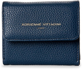 adrienne vittadini Navy Pebbled Coin Purse