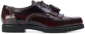 Tod's fringed derby shoes