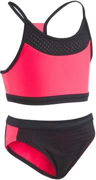 Under Armour Girls 7-16 Racer Top & Bottoms Bikini Swimsuit Set