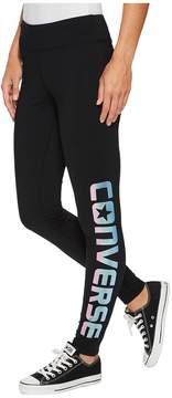 Converse Shine Pack Printed Leggings Women's Casual Pants