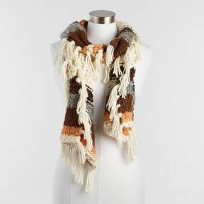 World Market Southwest Chunky Knit Scarf