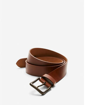 Express genuine leather belt