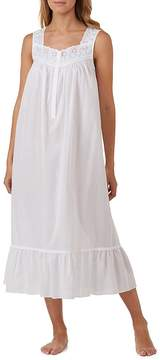 Eileen West Eyelet-Trimmed Lawn Ballet Nightgown