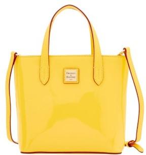 Dooney & Bourke Patent Mini Waverly Top Handle Bag - DANDELION - STYLE
