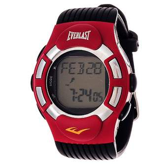 Everlast Finger Touch Heart Rate Monitor Watch Red