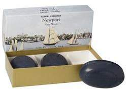Newport 3 Bar Soap Set by Caswell-Massey (5.8ozea. Bar)