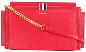 Thom Browne Leather Accordion Shoulder Bag