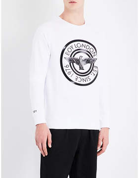 Boy London Plastisol cotton-jersey sweatshirt