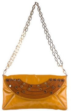 Tory Burch Coated Canvas Shoulder Bag - YELLOW - STYLE