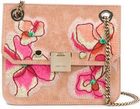 Jimmy Choo Rebel floral shoulder bag
