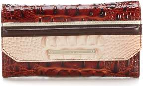 Brahmin Eastwood Collection Soft Checkbook Wallet