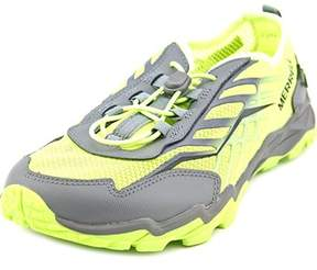Merrell M-b Hydro Run Youth Round Toe Synthetic Green Running Shoe.