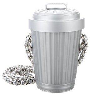 Moschino Trash Can Shoulder Bag w/ Tags