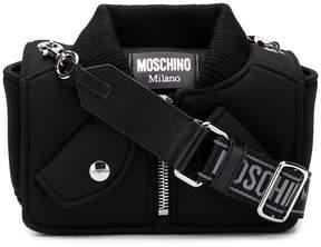 Moschino zipped jacket shoulder bag